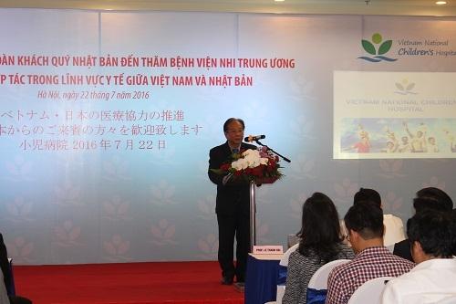 Bệnh viện Nhi Trung ương bảo vệ tối đa cho nụ cười trẻ em Việt Nam - Ảnh 1